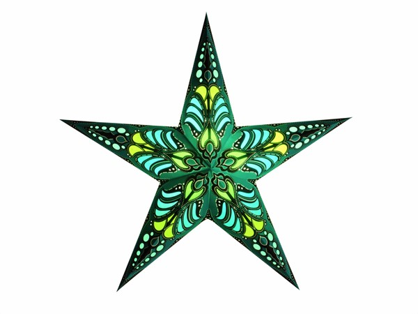 Bild von starlightz ramadasa teal earth friendly Leuchtstern