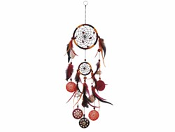 Bild von Dreamcatcher 2er BW/Kokos orange 12 cm