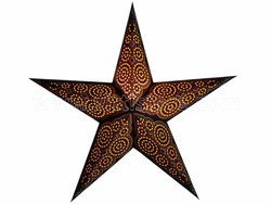 Bild von starlightz marrakesh brown/yellow earth friendly Leuchtstern