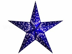 Bild von starlightz ren blue earth friendly Leuchtstern
